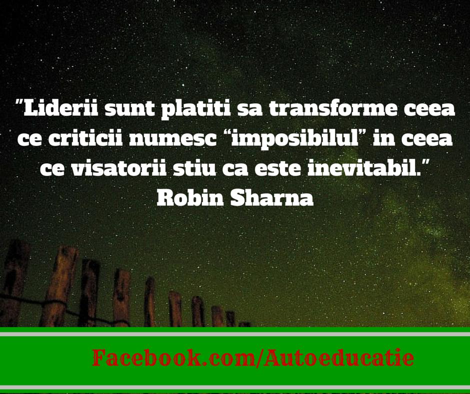 citate leadership Robin Sharma