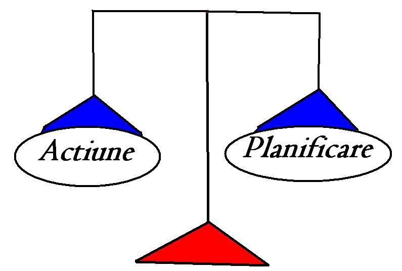 Actiune VS Planificare