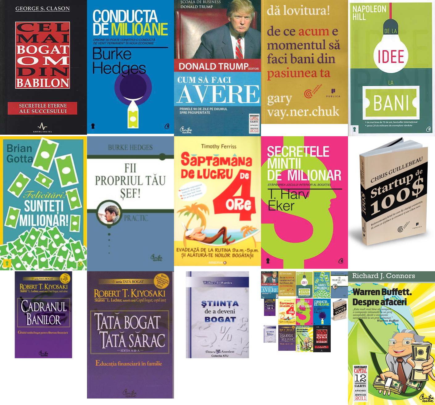 cele mai bune carti de educatie financiara